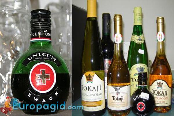 алкогольные сувениры из Венгрии