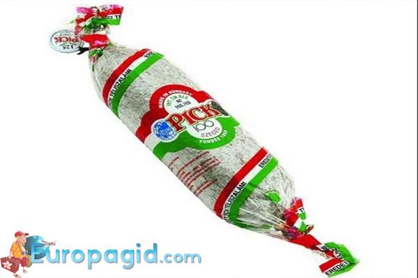 вкусные сувениры из Венгрии