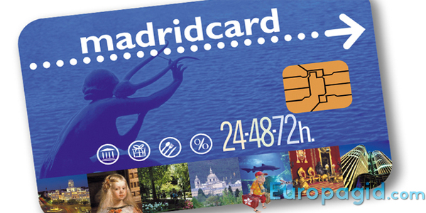 карта Madrid Card