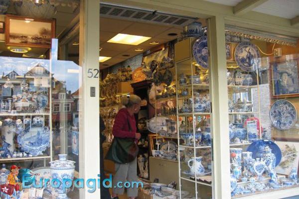 популярные сувениры из Амстердама
