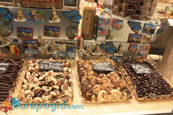 сладкие сувениры из Брюсселя