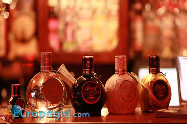 Алкогольные сувениры из Австрии