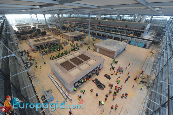 Аэропорт Тегель внутри