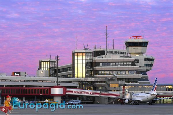 Аэропорт Тегель здание