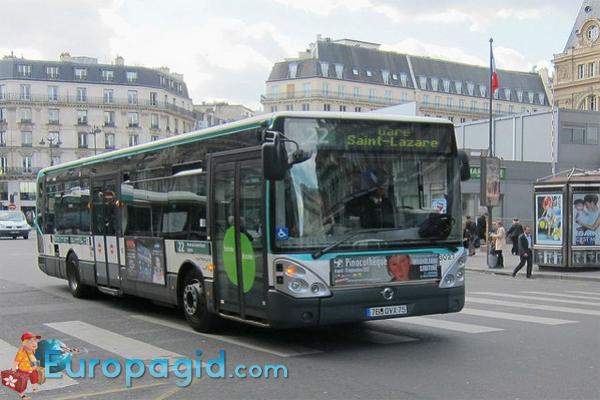 Билеты на туристический автобус в Париже