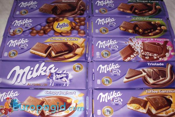 Вкусные сувениры из Австрии