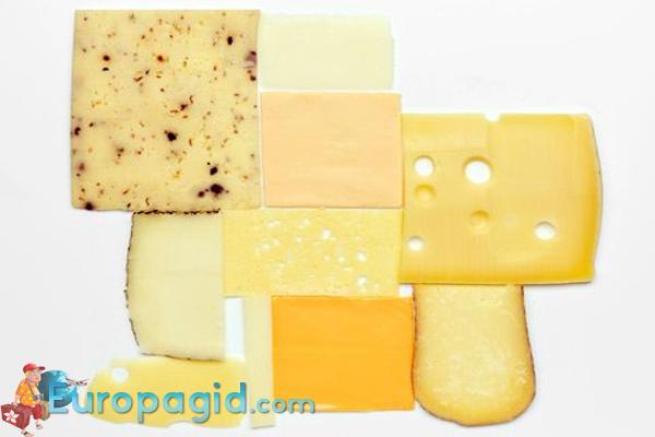 Сырные сувениры из Италии