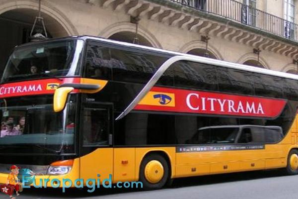 автобусные экскурсии в Париже