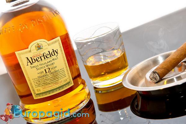 алкогольные сувениры Шотландии