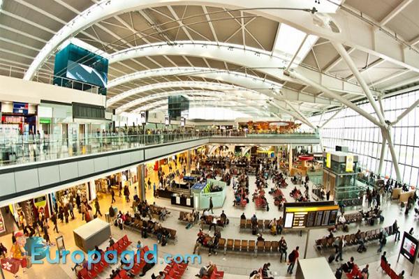 аэропорт Хитроу in london