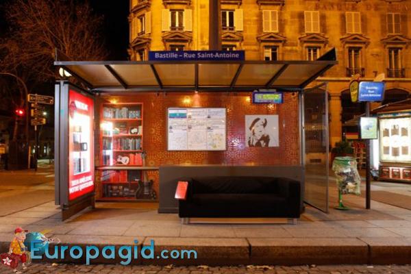 Билеты на автобусы Парижа