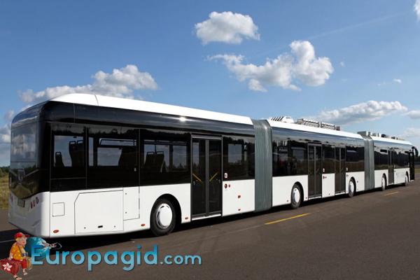 городские автобусы в Берлине