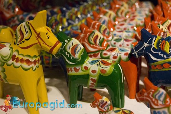красивые сувениры из Швеции