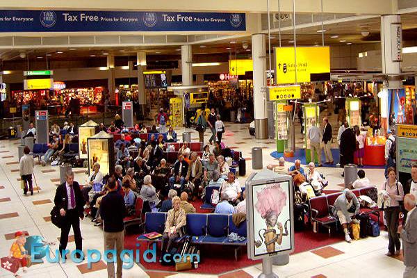 лондонский аэропорт Гатвик