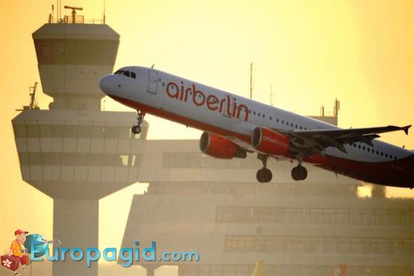 онлайн табло Аэропорт Тегель