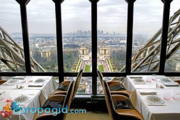 ресторан на Эйфелевой башни