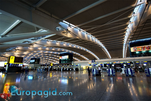 сервис аэропорта Хитроу
