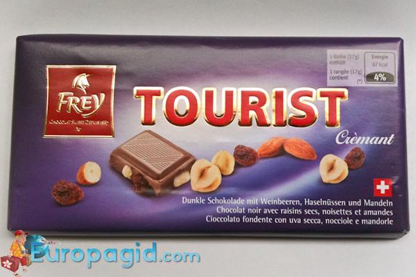 сладкие сувениры Цюриха