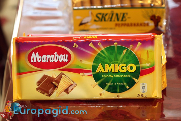 сладкие сувениры из Швеции