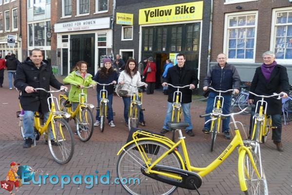 стоимость проката велосипедов в Амстердаме