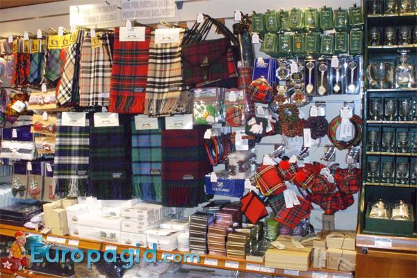 сувениры Шотландии
