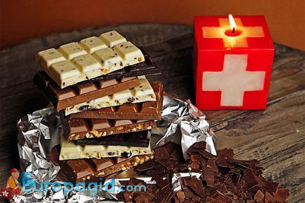 сувениры в подарок из Швейцарии