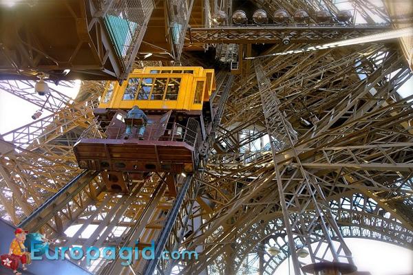 схема Эйфелевой башни