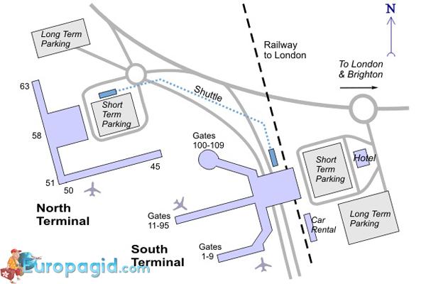 В Южном терминале