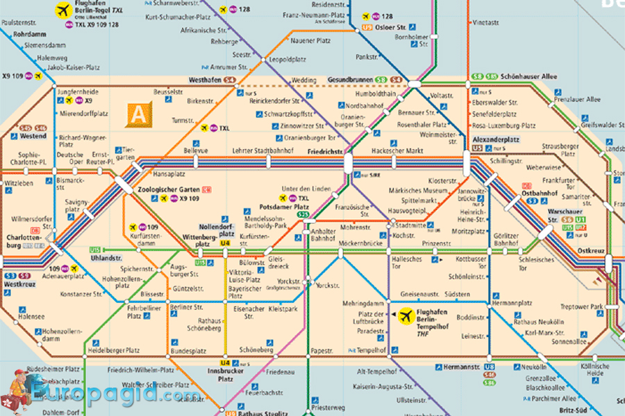 Билеты на автобусы в Берлине