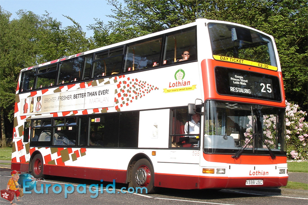 транспорт Эдинбурга автобус