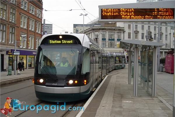 транспорт Эдинбурга трамваи