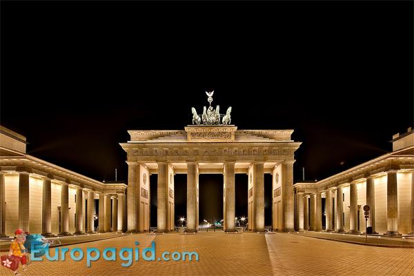 Бранденбургские ворота адрес