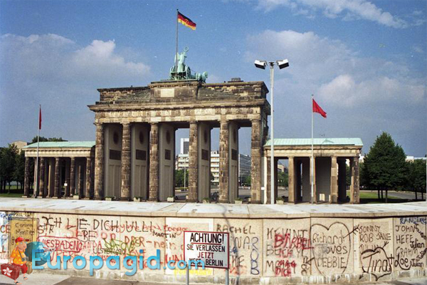 Бранденбургские ворота в Берлине как добраться
