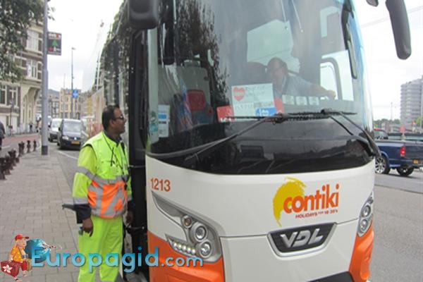 Городские автобусы в Амстердаме для вас