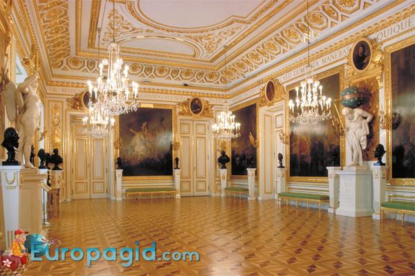 Королевский дворец в Варшаве галерея