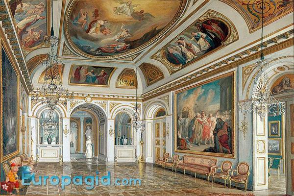 Королевский дворец в Варшаве изнутри