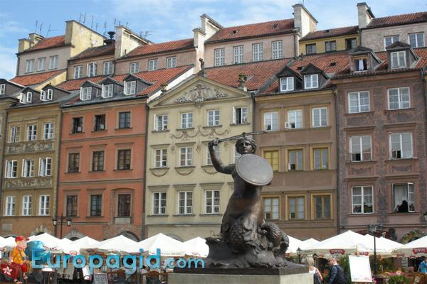 Старый город Варшавы для всей семьи