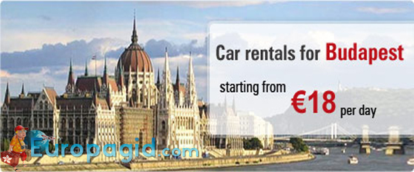аренда автомобиля в Будапеште
