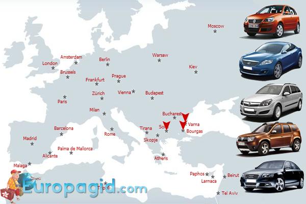 аренда автомобиля в Варшаве и не только
