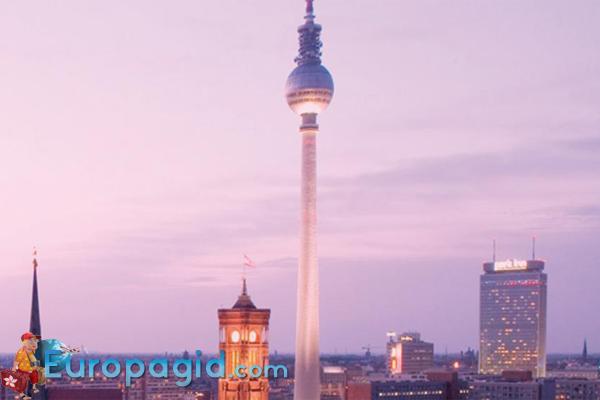 берлинская телебашня для вас