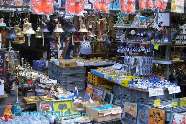 блошиный рынок Амстердама