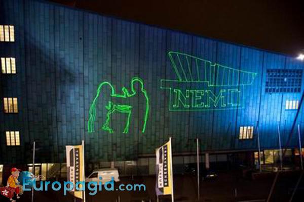 музей Немо в Амстердаме время работы