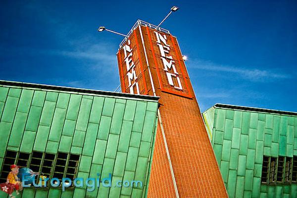музей Немо в Амстердаме стоимость билетов