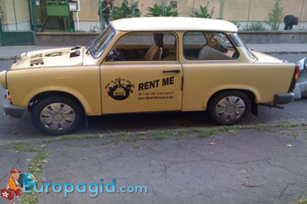 прокат автомобиля в Будапеште