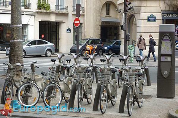 прокат велосипедов в Париже для Вас