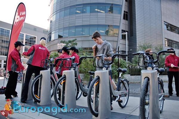 прокат велосипедов в Париже для всей семьи