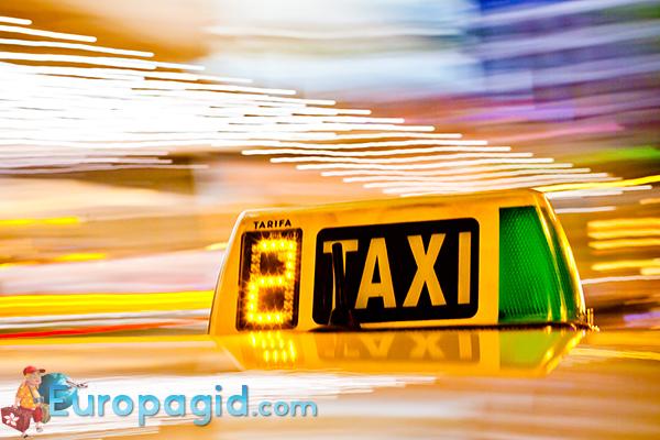 русское такси в Берлине