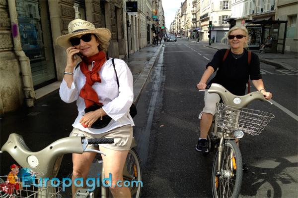 стоимость проката велосипедов в Париже