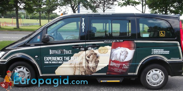 такси в Эдинбурге для большой семьи