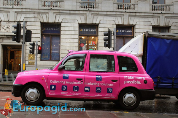 такси в Эдинбурге